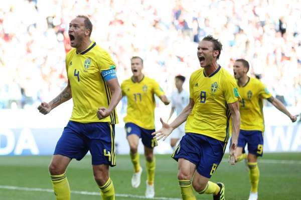 New technology have decided the outcome of the match between Sweden and South Korea