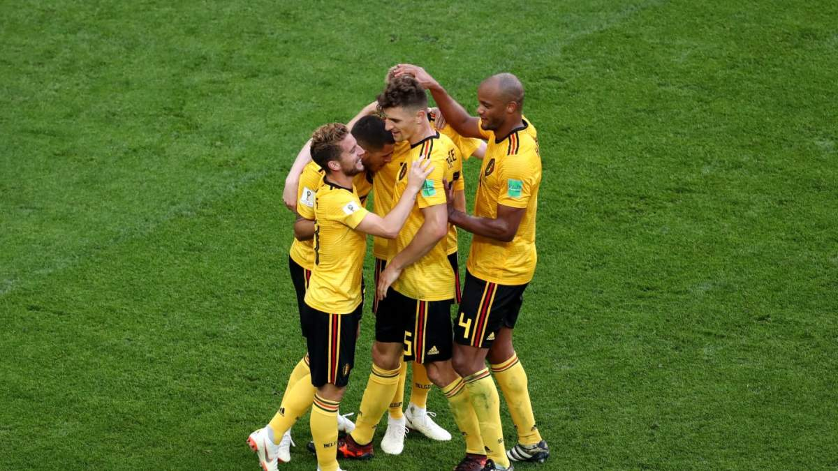 The Belgian team won bronze medals at the World Cup