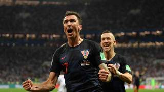 Croatia reached the World Cup final