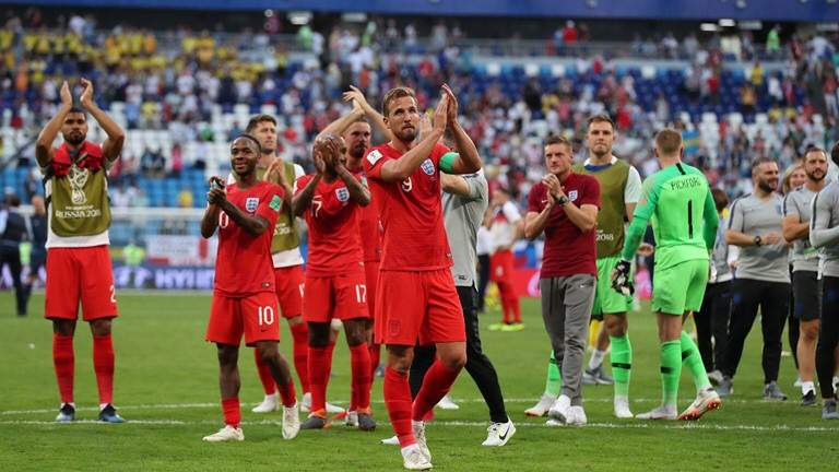 England beat Sweden 2:0
