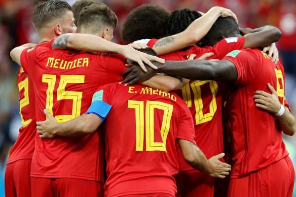 Belgium defeated Panama with the score 3:0